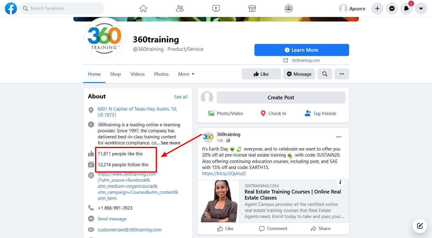 360training-Facebook