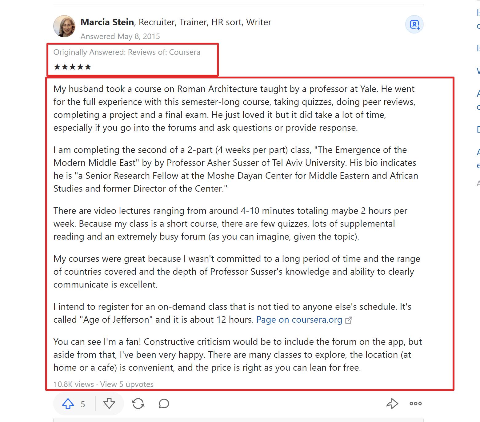 Coursera Reviews on Quora Legit Is Coursera Legit