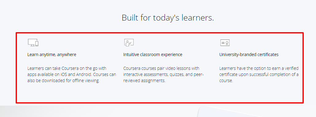 Coursera education review - build