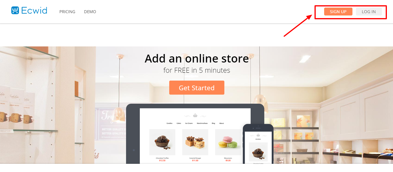 Best Ecommerce Platform -Ecwid review get started