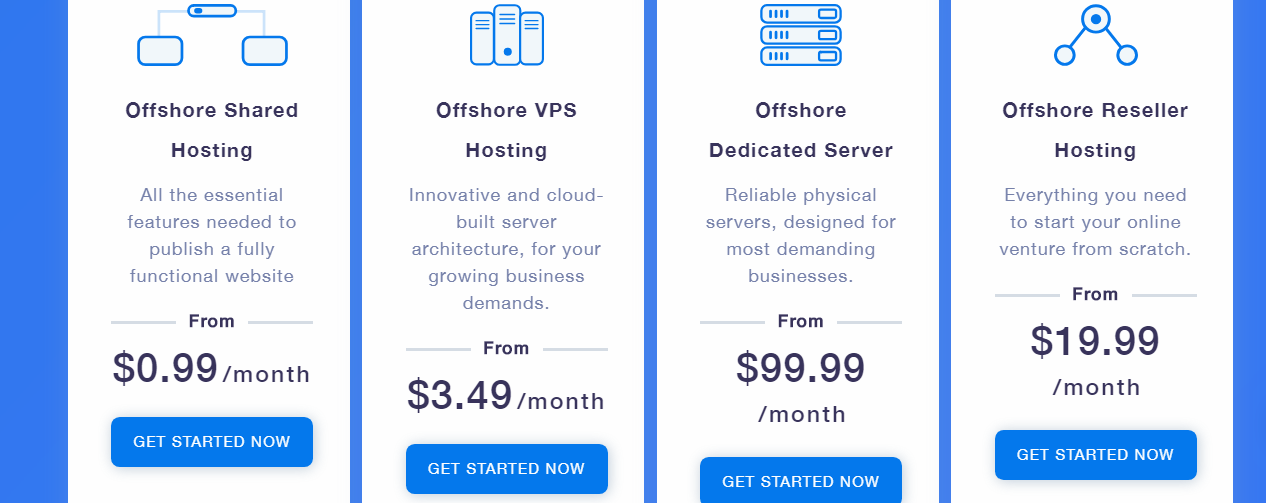 Flaunt7 Review- offshore shared Hosting key Features