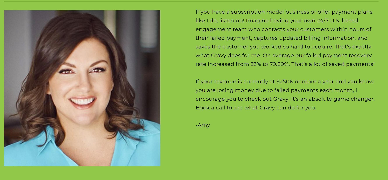 Gravy Solutions testimonials