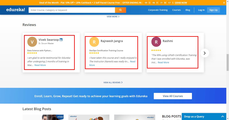 How to get-Edureka courses for free