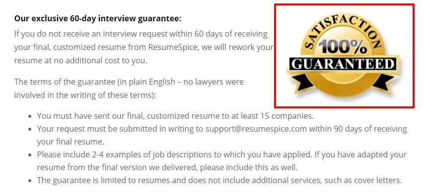 ResumeSpice coupon code-Guaranteed