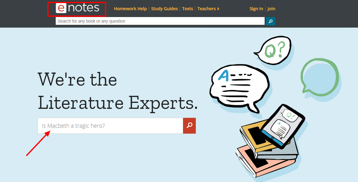 enotes Review- Help Guide