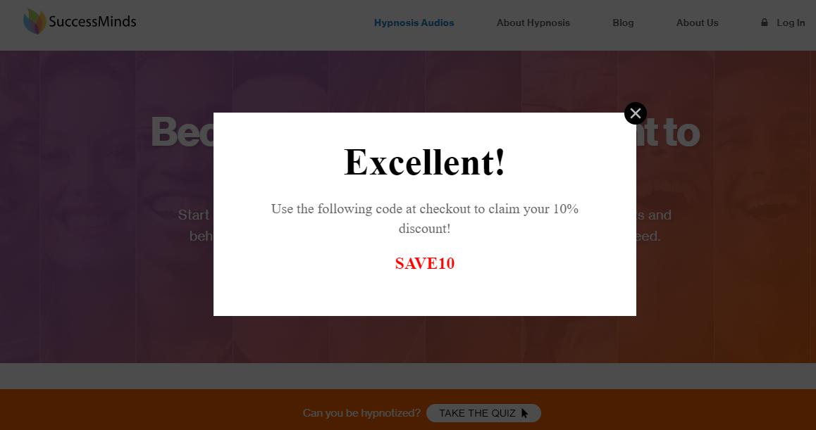 SuccessMind Discount Coupon Code