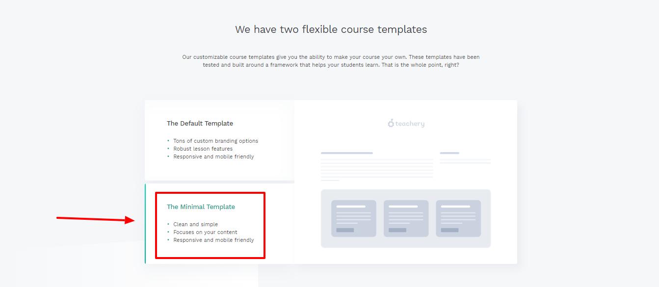 Teachery review-templates