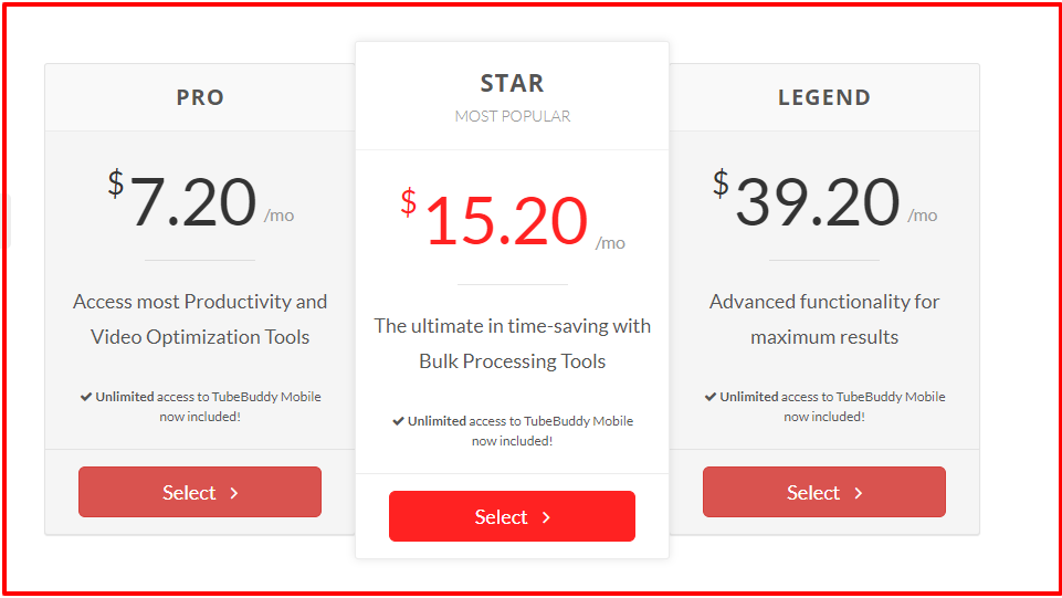 TubeBuddy Review With Discount Coupon- Pricing Plan