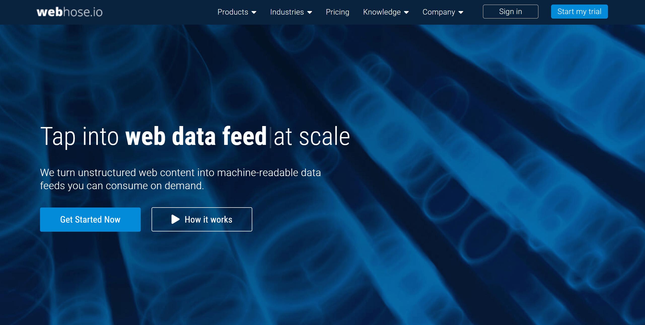 Webhose data