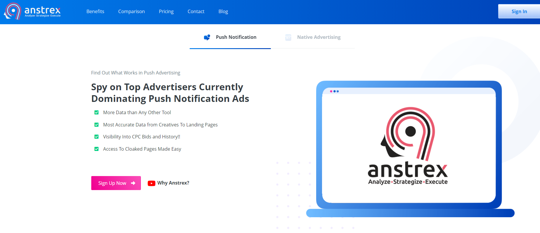 Anstrex Review- Reliable Ads Spy Tool