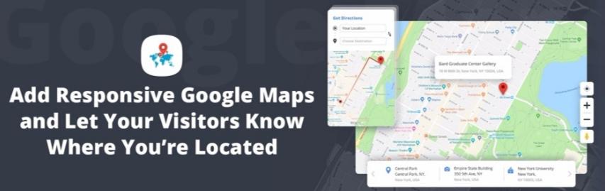 Best WordPress Store Locator Plugins- 10Web Google Maps