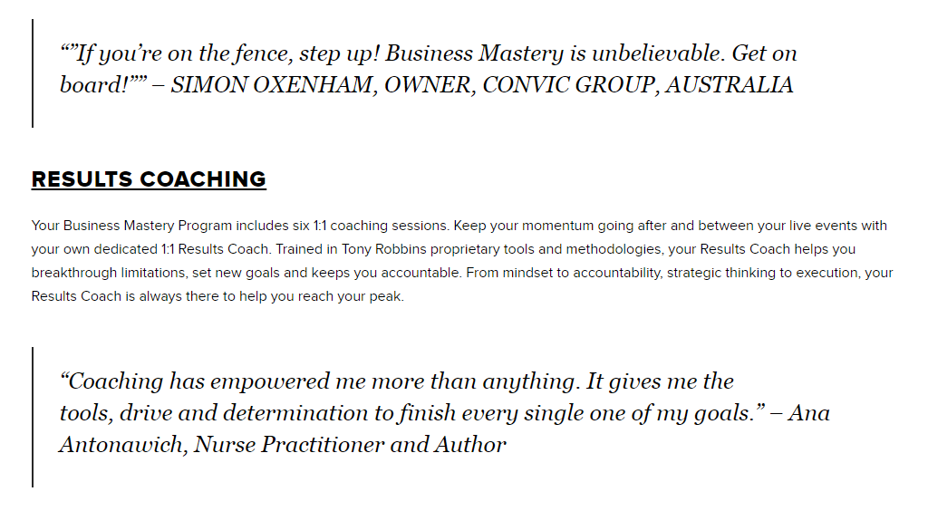 Business Mastery- Reviews