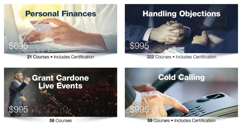 Grant Cardone University Review- Courses Module 3