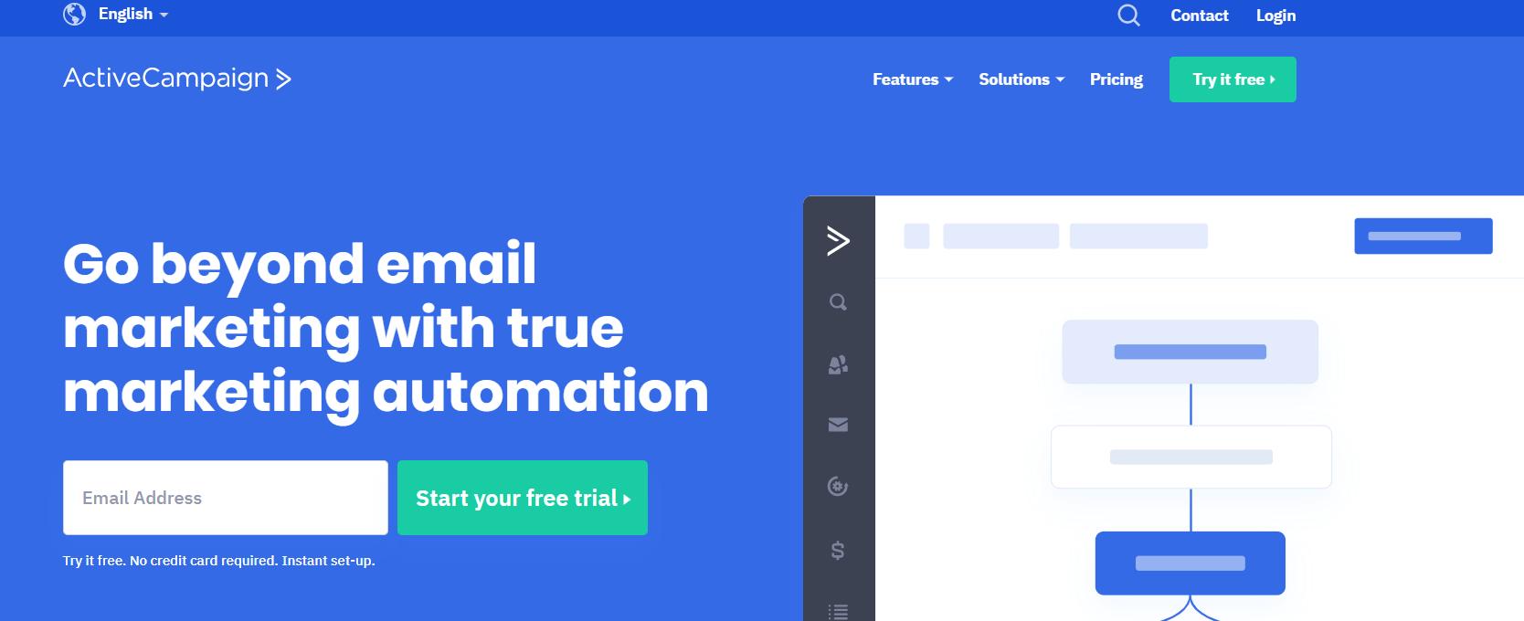 Omnisend Vs Mailchimp Comparison- ActiveCampaign