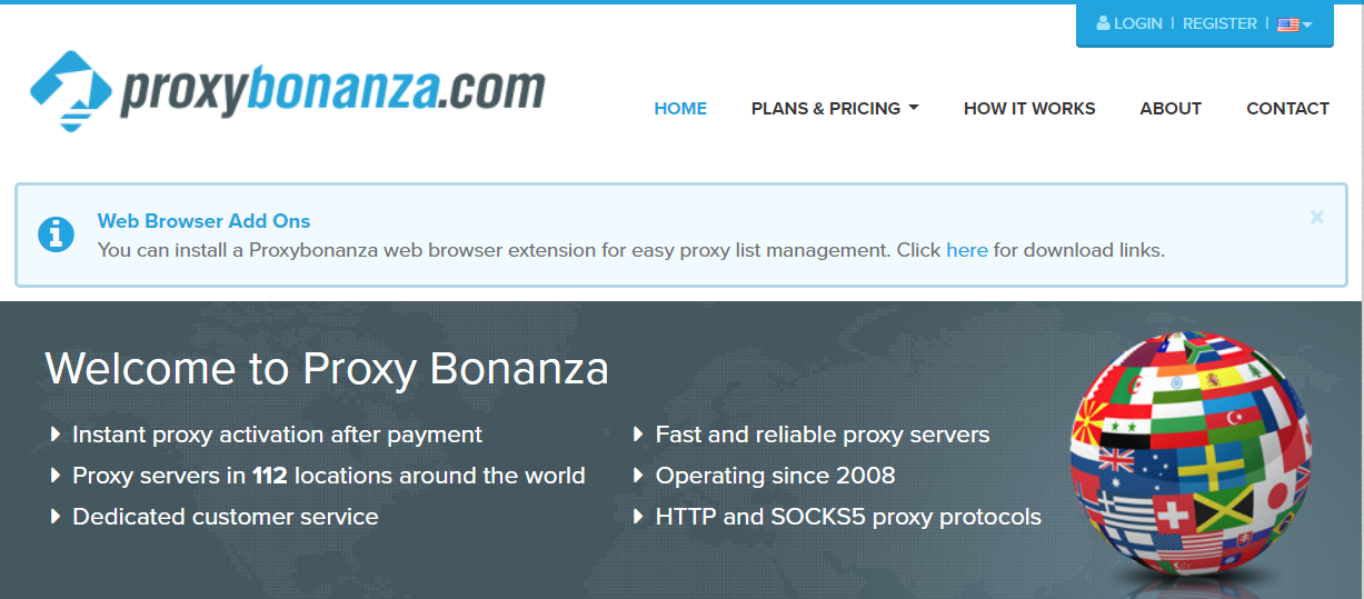Proxy Bonanza- List of Best SOCKS Proxies Provider