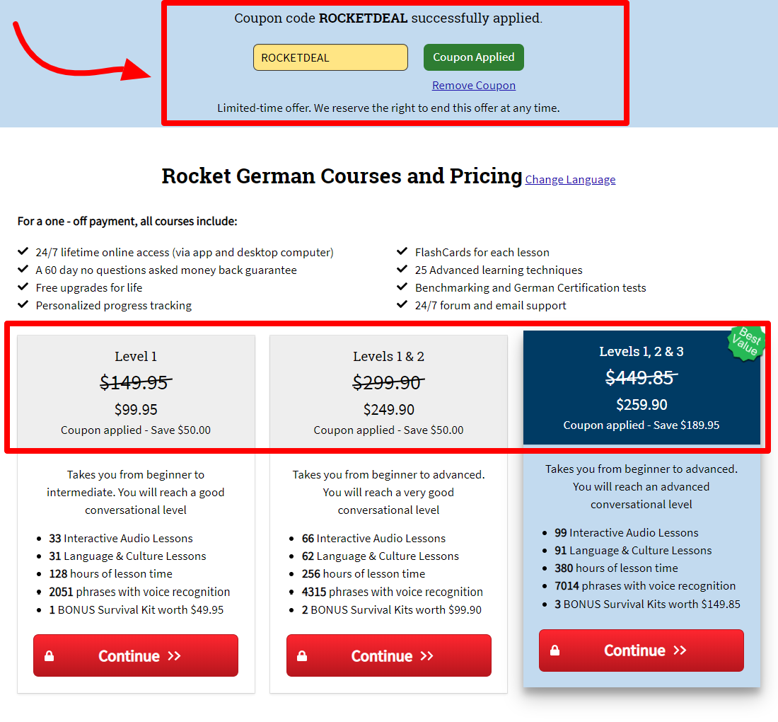 Rocket Languages Courses Coupon Codes- Get Upto 40% Off Now