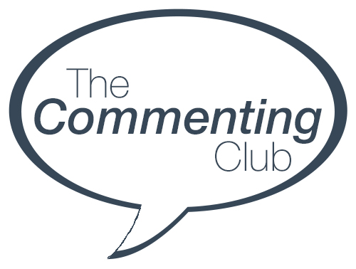 The Commenting Club Logo 2 - Alice Elliott