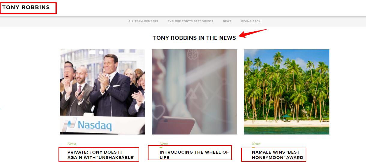 Tony Robbins Life Coach Training Review- News