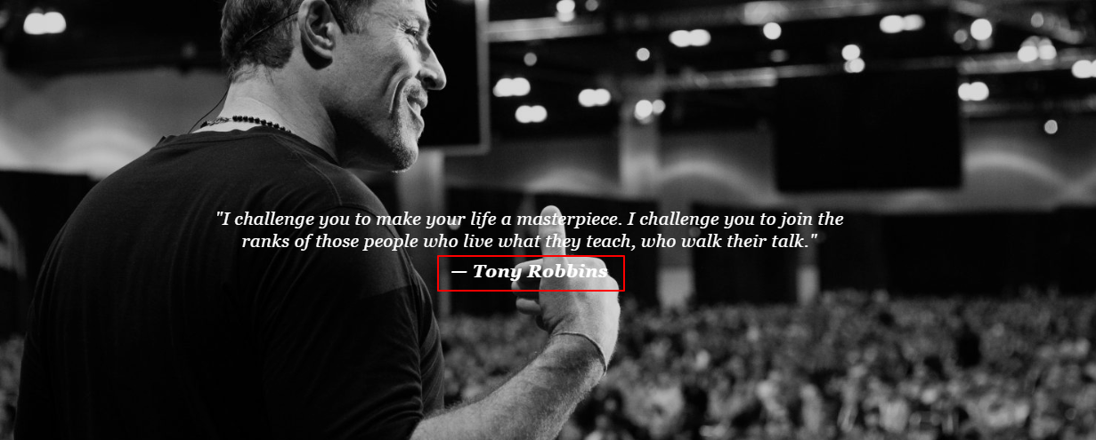 Tony Robbins Workshop Review- Tony