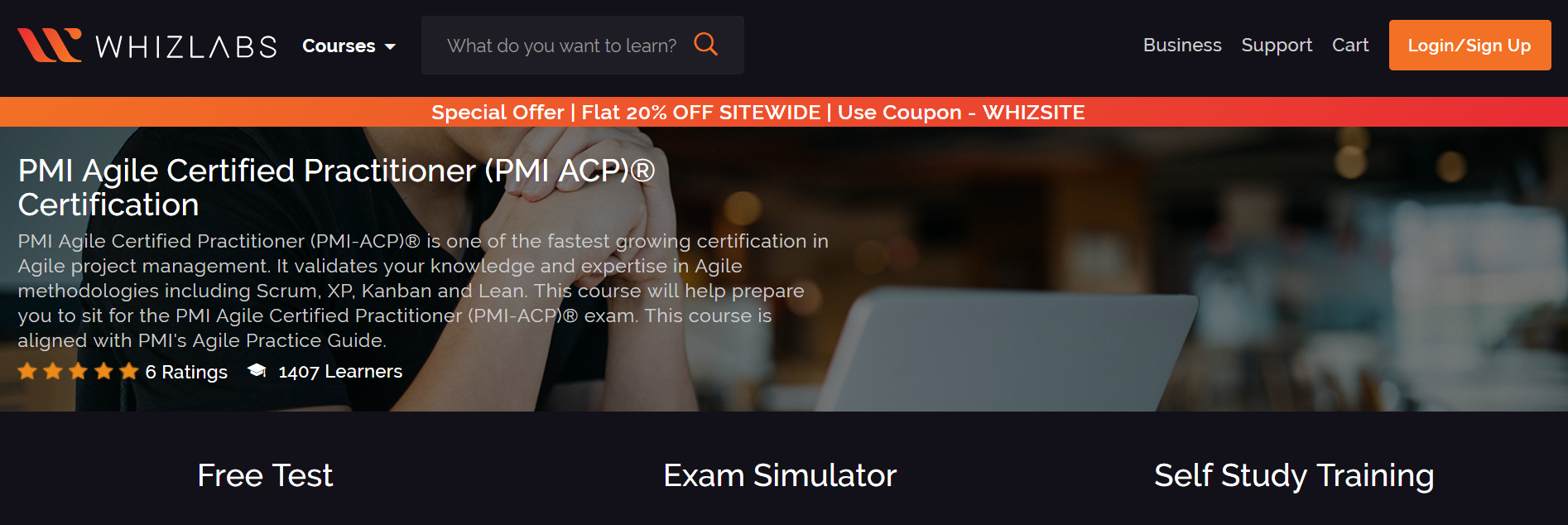 Whizlabs- PMI ACP ® Certification