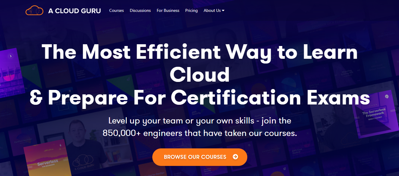 Top 5 AWS Certifications Training Providers- A Cloud Guru