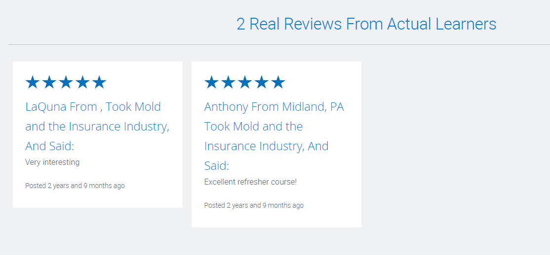 Alabama Mold and the Insurance Industry- Reviews