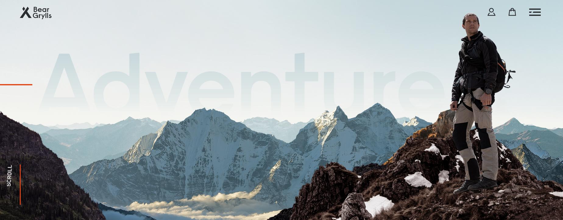 Bear Grylls- Best Motivational Speaker