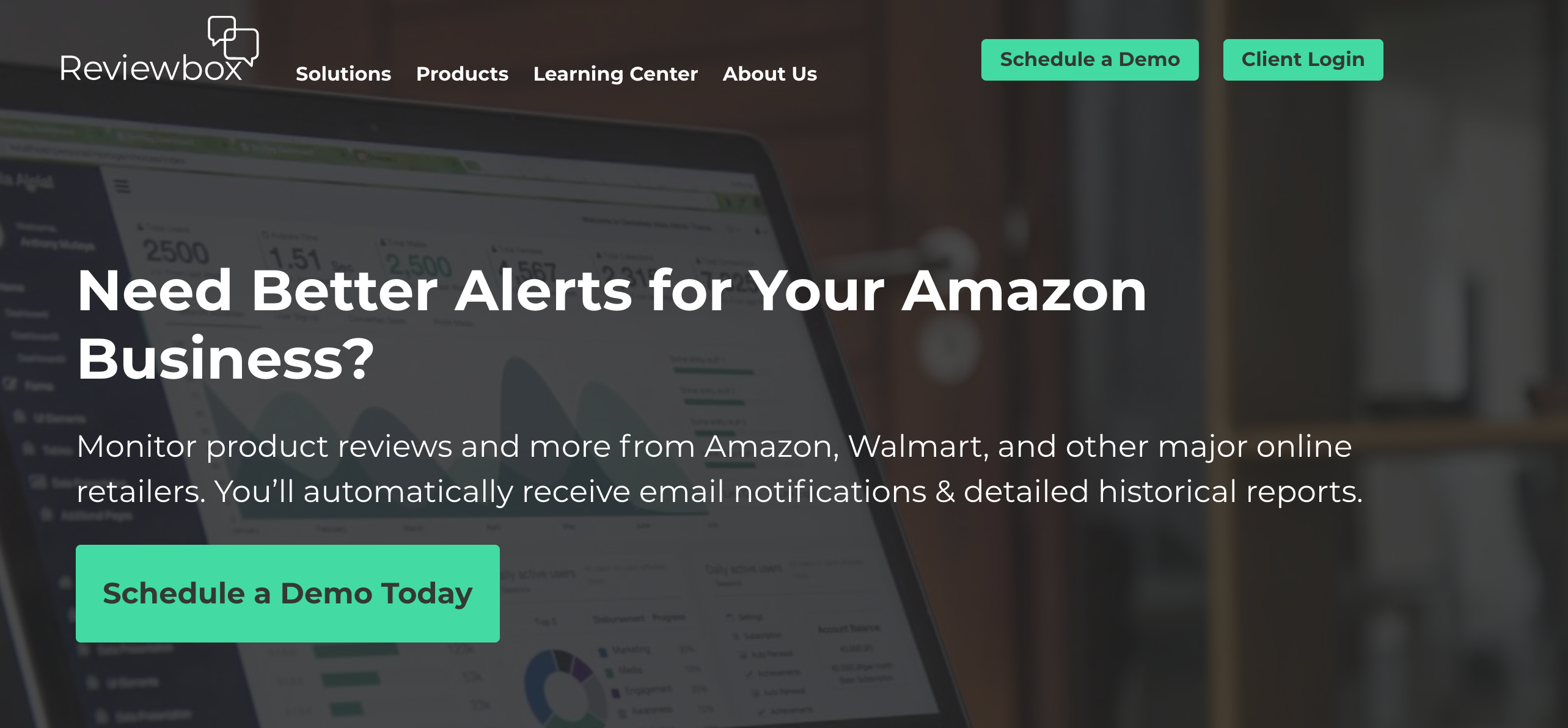 Better Alerts for Amazon - Reviewbox