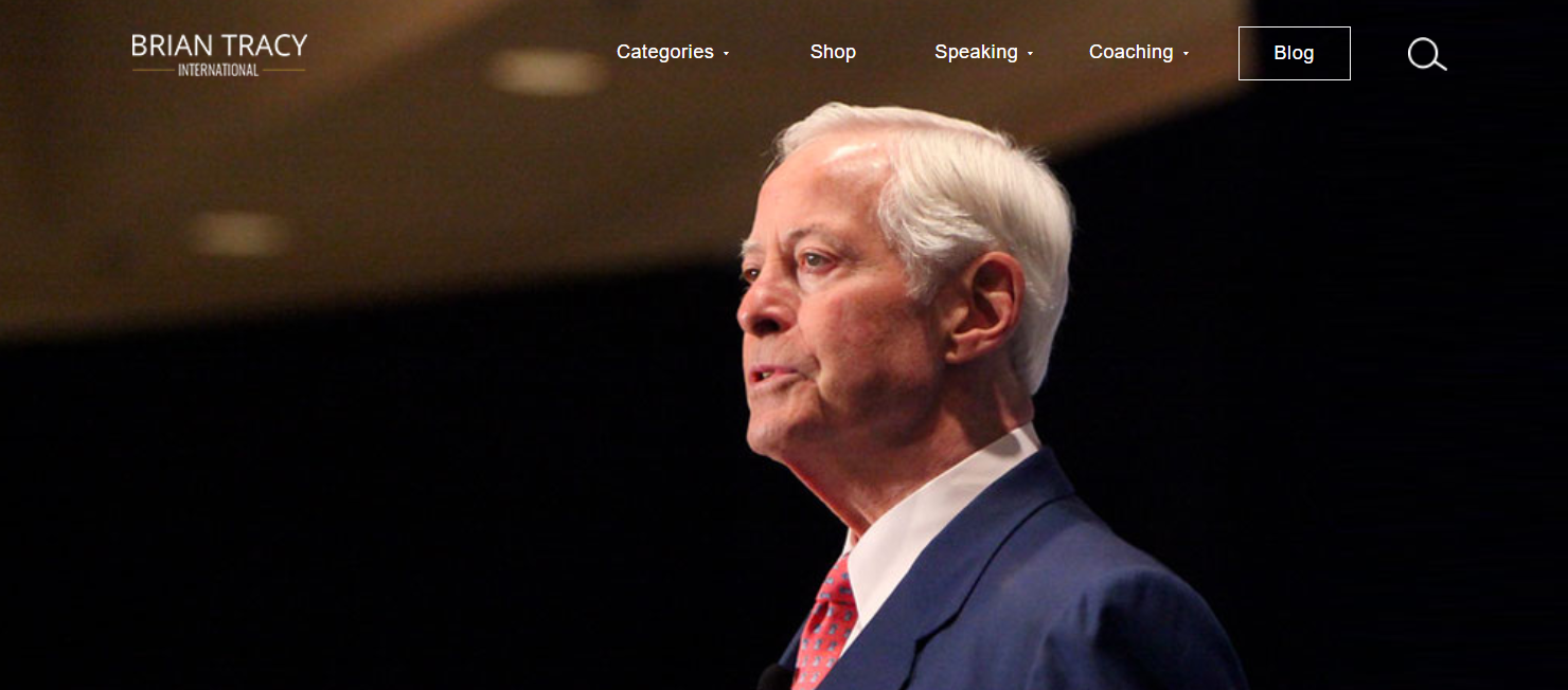 Brian Tracy- Best Motivational Speakers