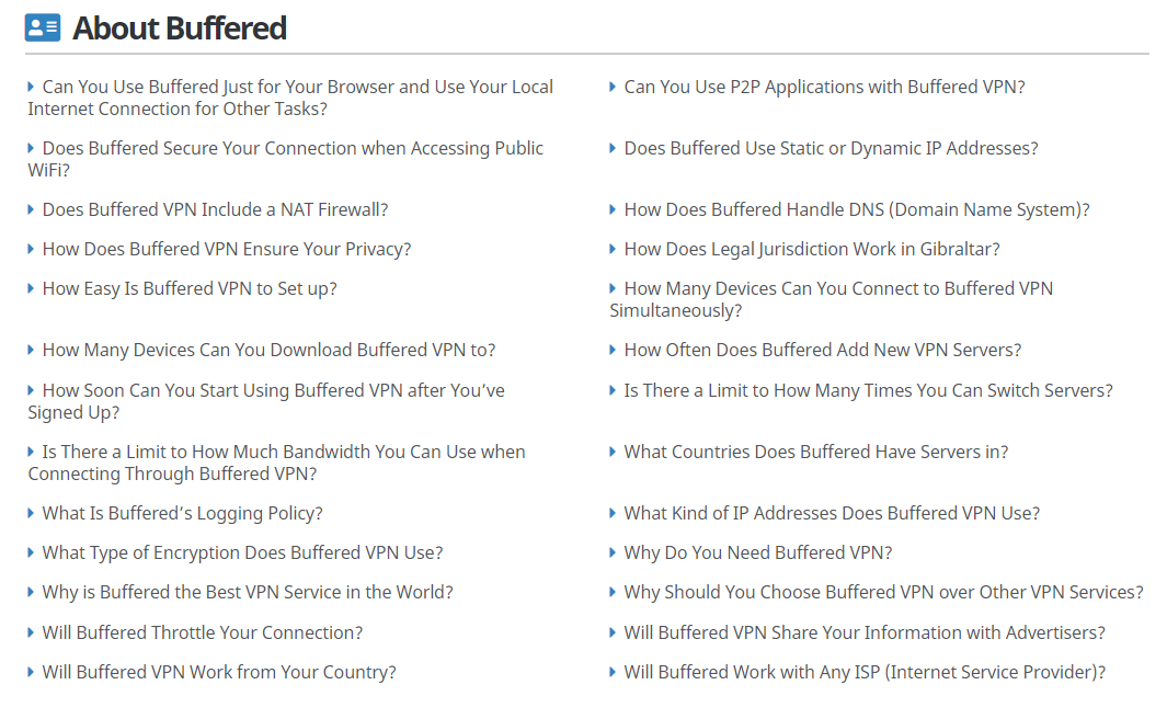Buffered VPN Review-More About Buffered