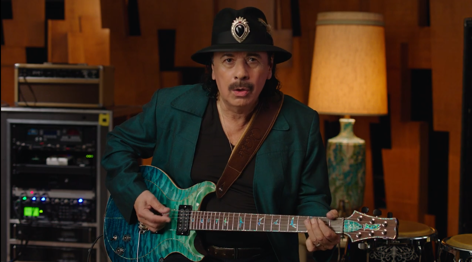 Carlos Santana MasterClass Review - teach a lesson