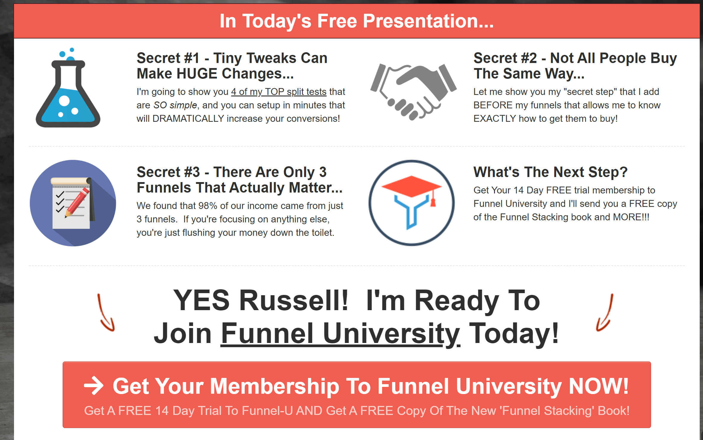 Funnel University Reviews