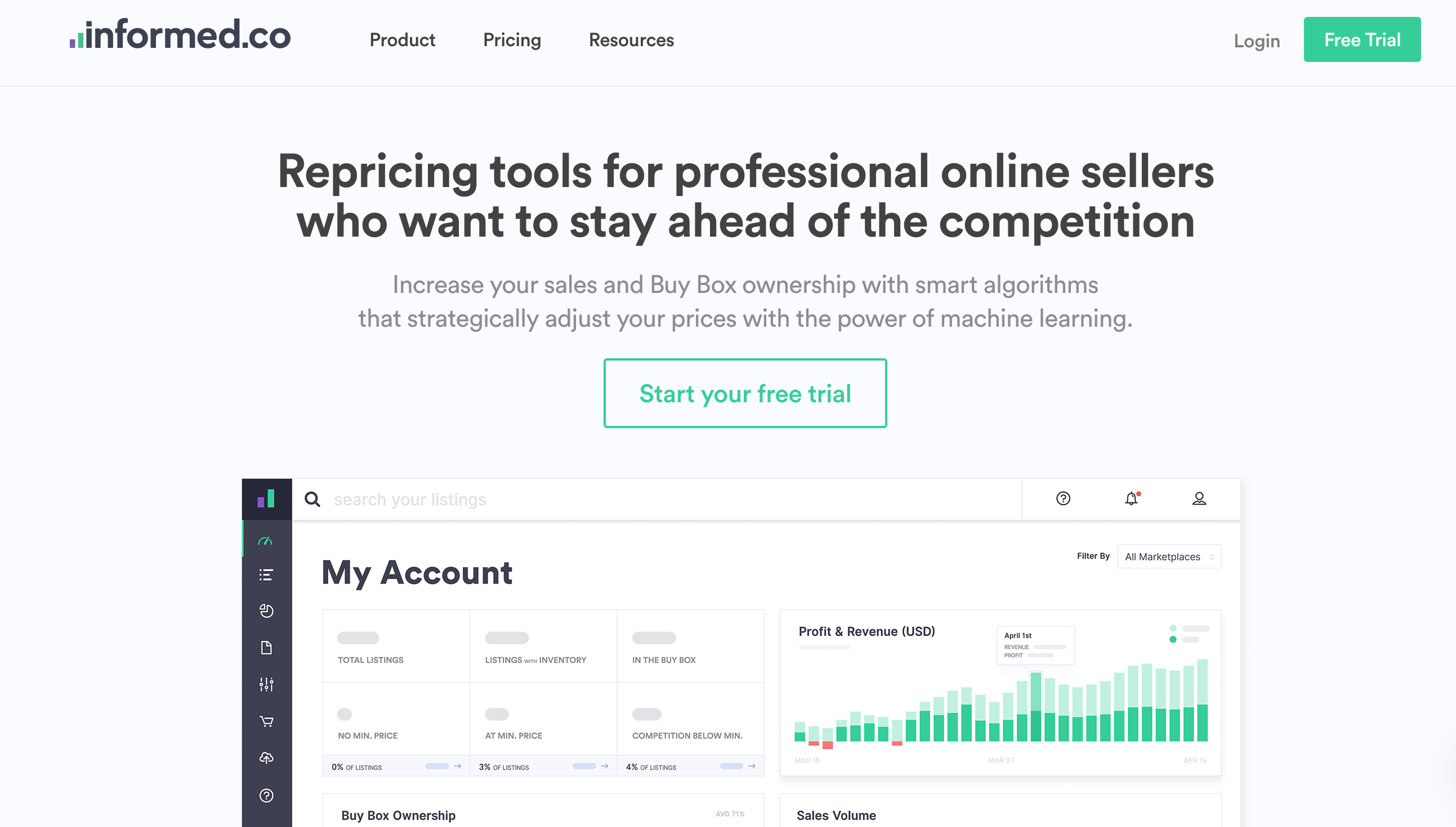 Informed.co - Repricing Tool