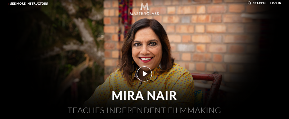 Mira Nair MasterClass Review - introduction