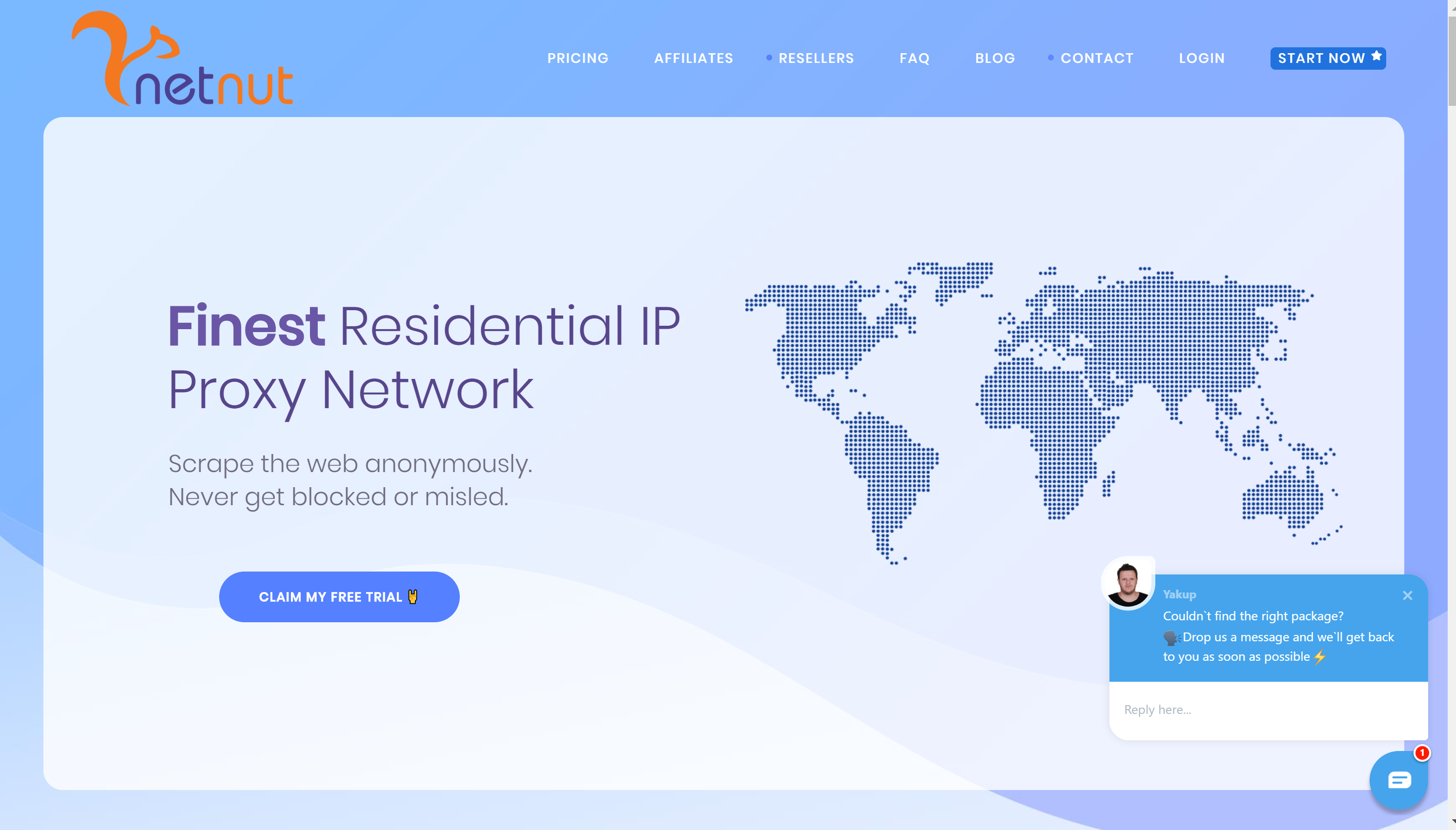 NetNut residential proxy review