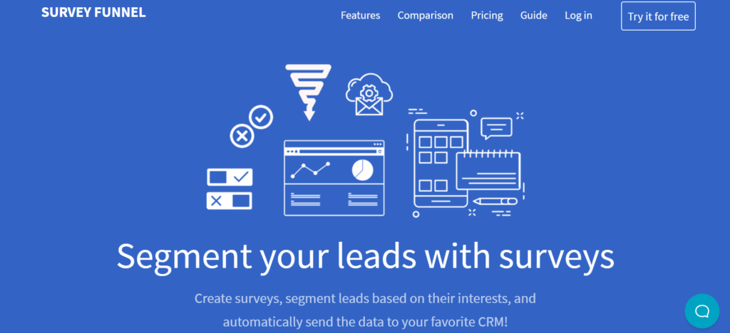 SurveyFunnel - online survey tool