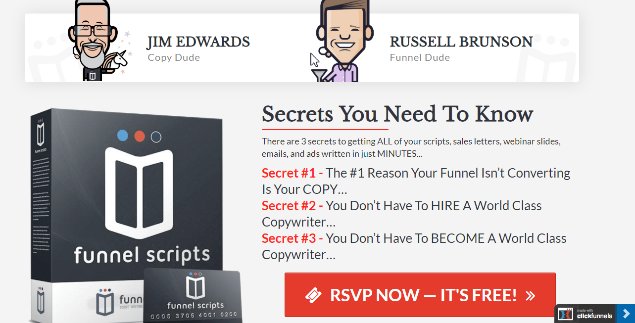 Funnel Scripts in Depth Review - Course