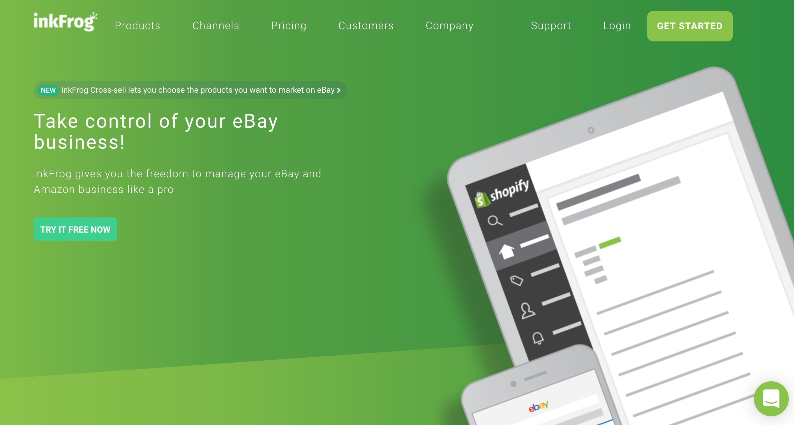 inkFrog - eBay and Amazon Listing Software with free eBay templates