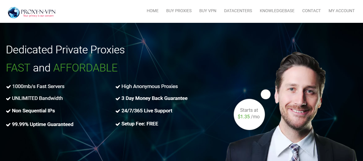 Best Residential IPs Proxy Network for Craigslist Scraping- craigslist proxynvpn