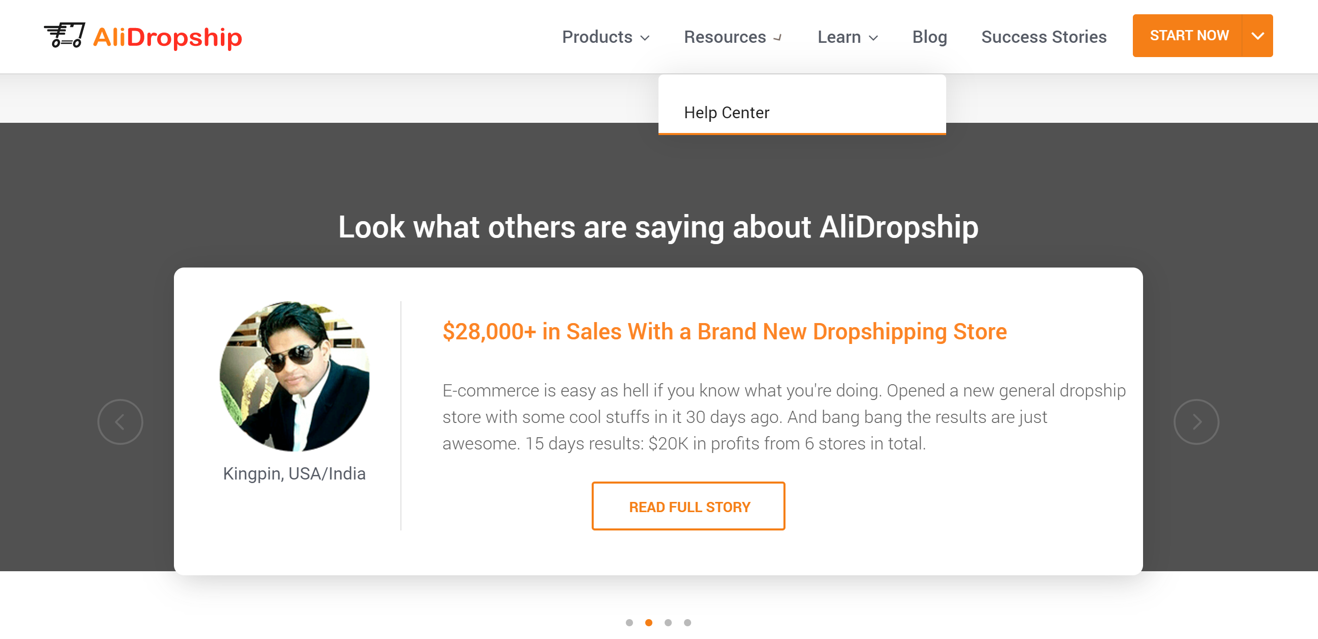 Alidropship buy custom dropshipping store servicesz