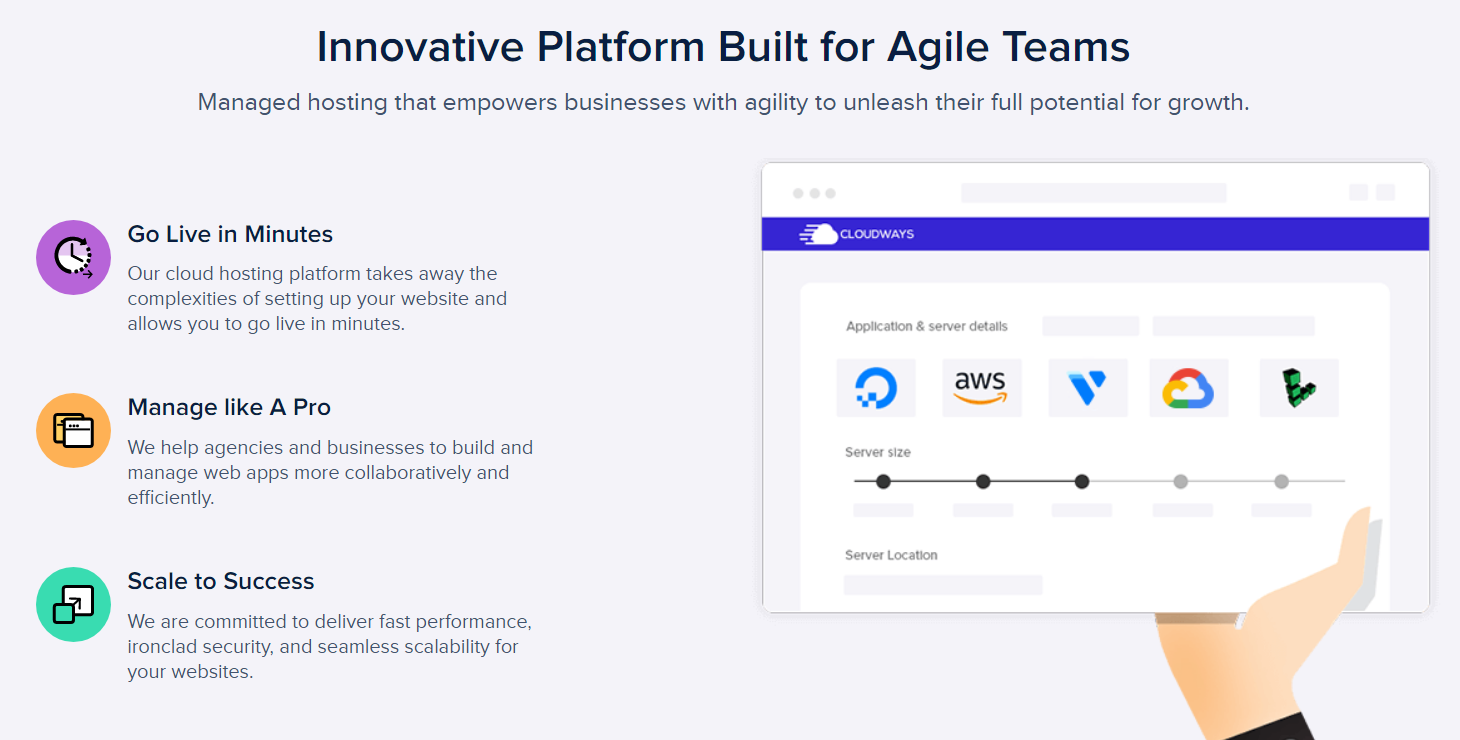 Cloudways Cloud Hosting- Innovative Platforms