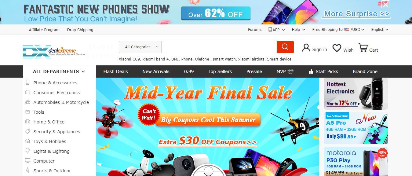 Top Chinese Wholesale Websites- DX