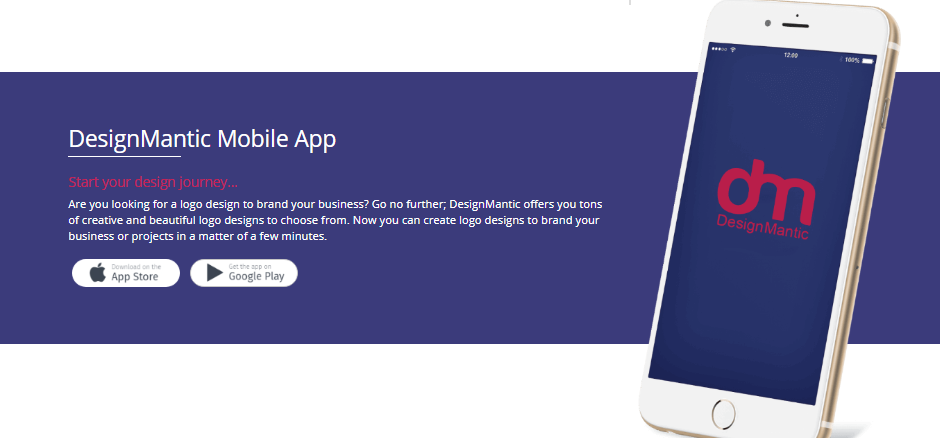 DesignMantic Review - mobile app
