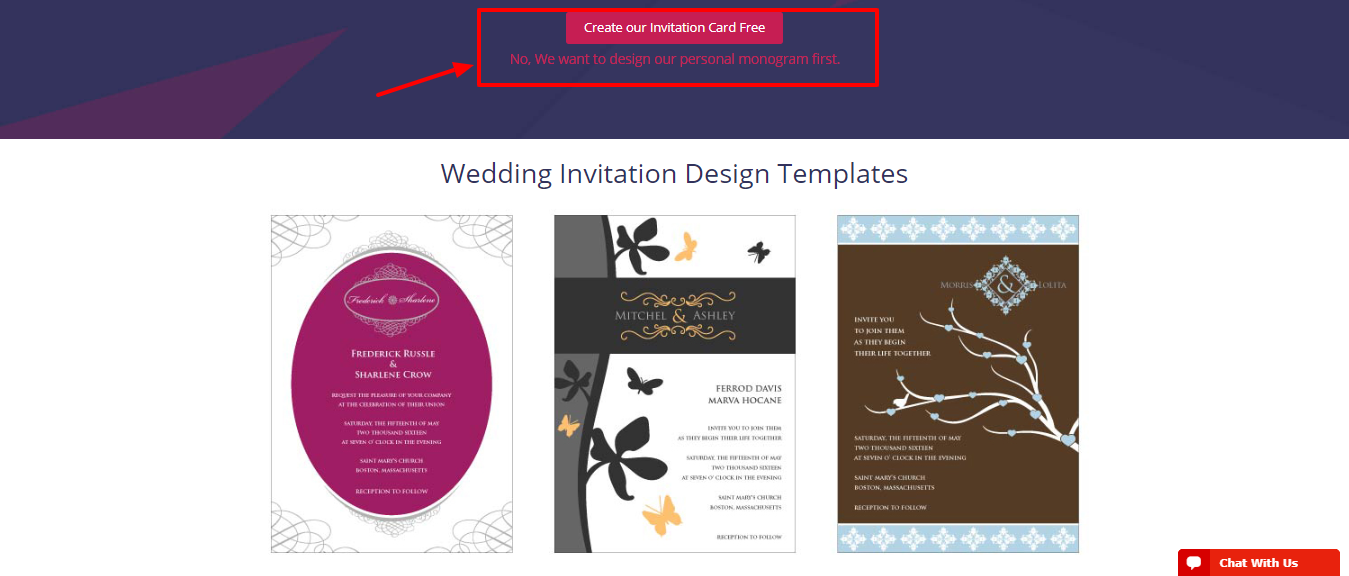 DesignMantic Review - wedding card design