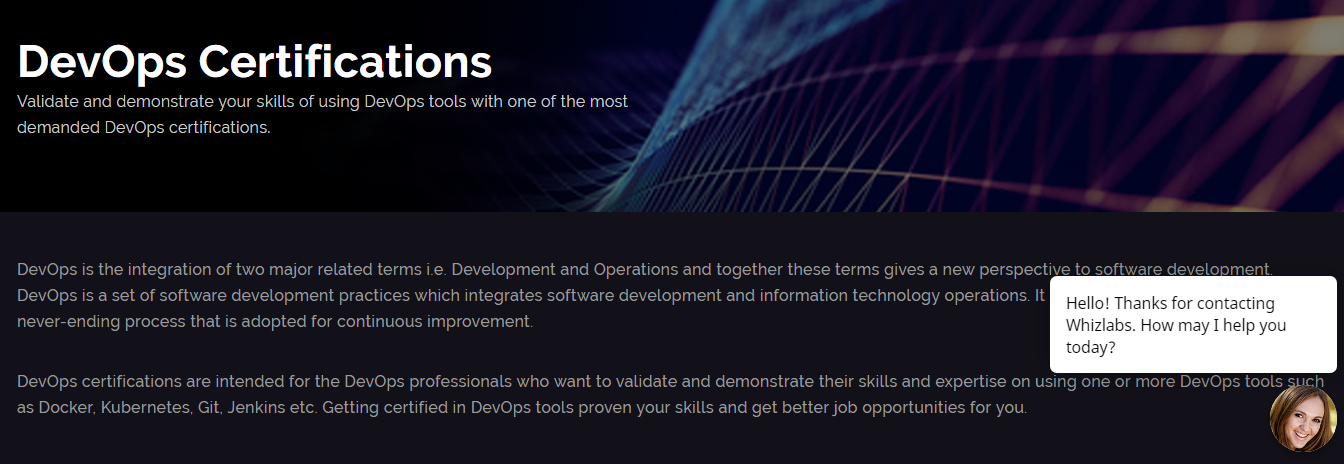 How Whizlabs Online Training Course- DevOps Certifications