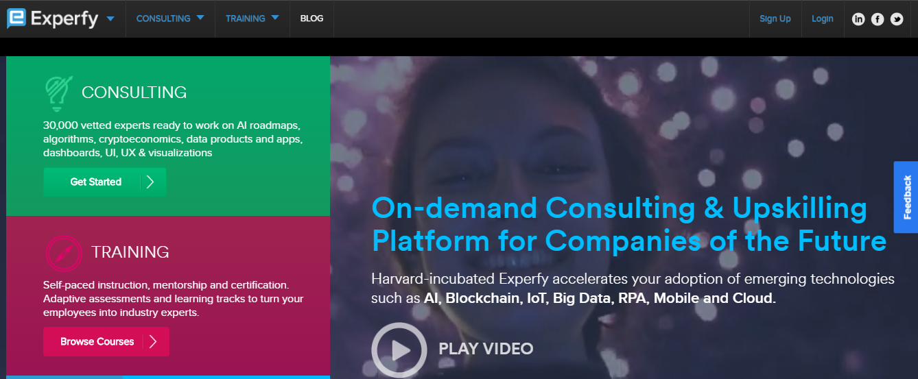 Experfy Review - on demand platform