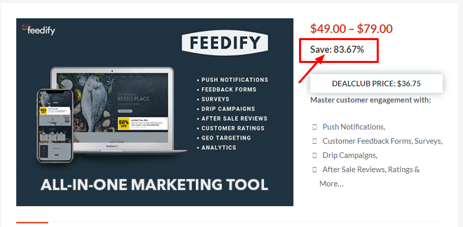 Dealfuel Discount Offers Deals - Feedify