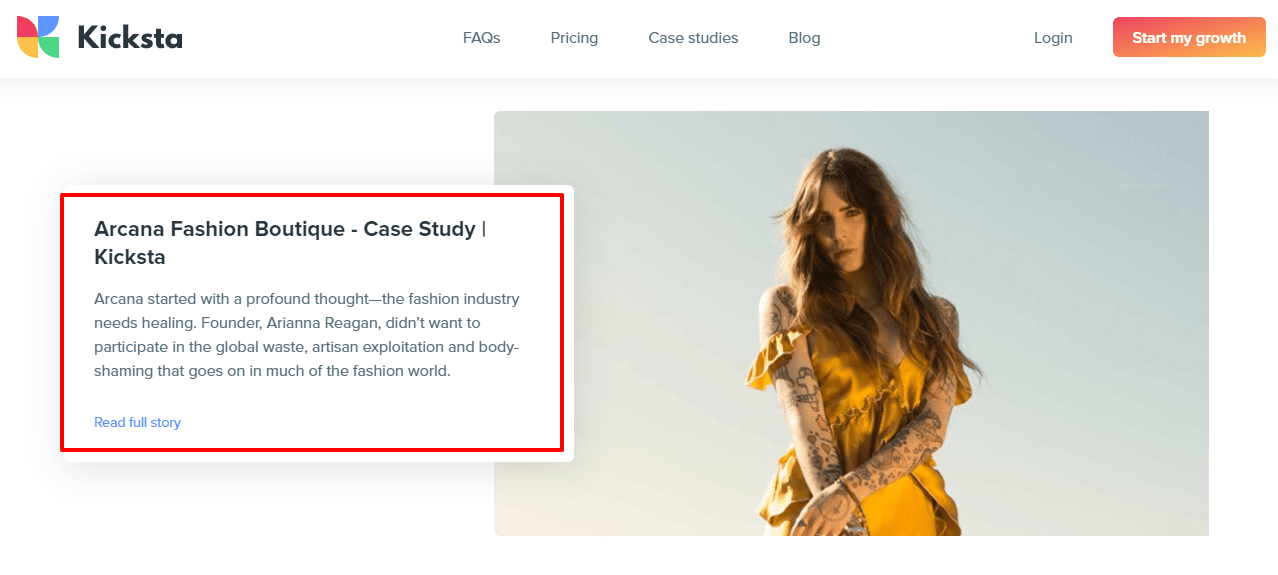 Kicksta-Case-Studies-Arcana Fashion Boutique