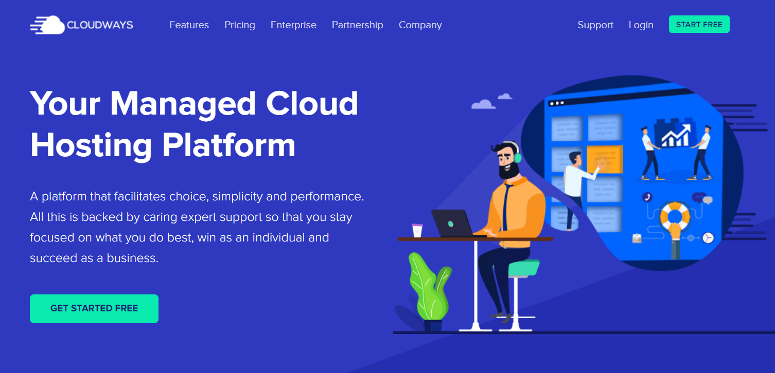 Managed Cloud Hosting Platform- Cloudways Cloud Hosting