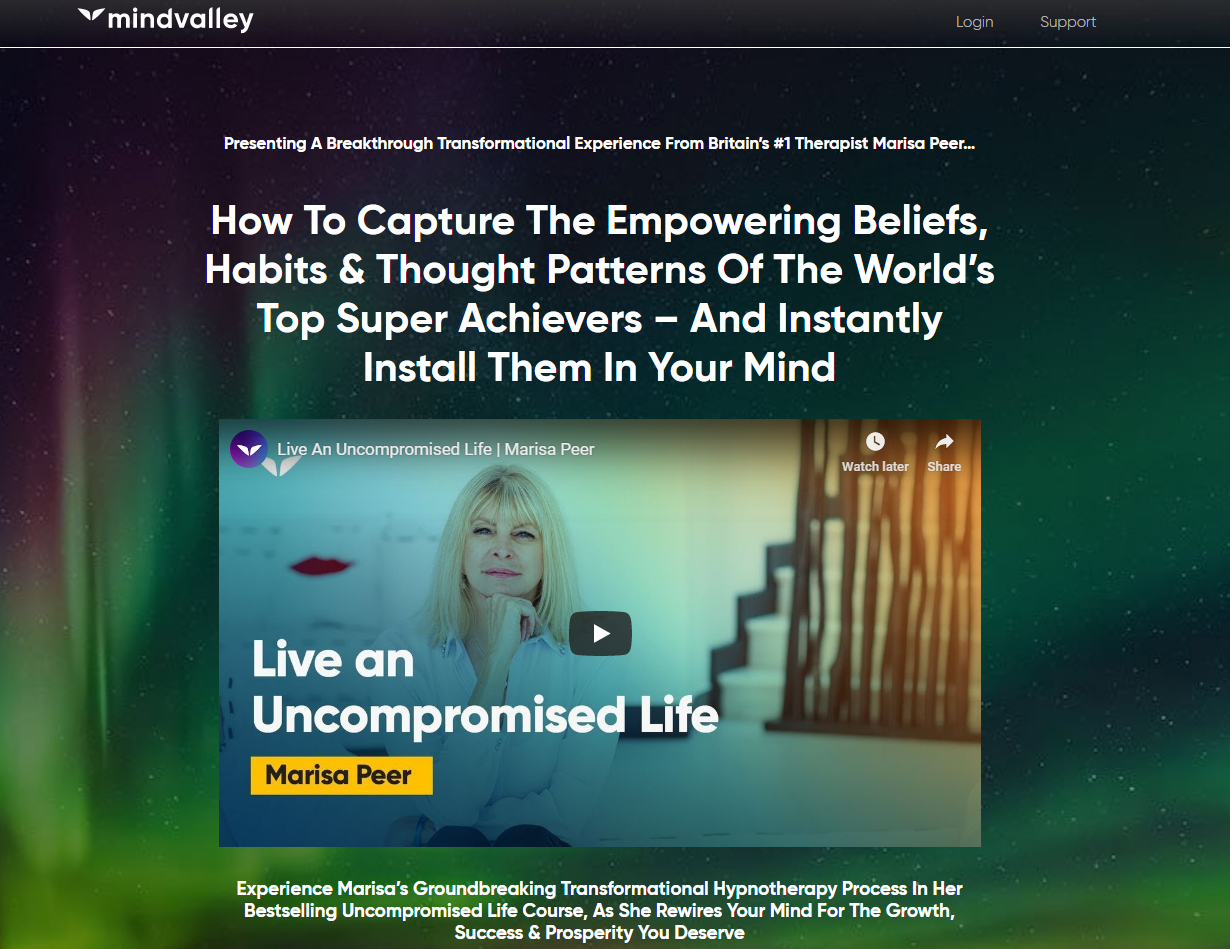 Rapid Transformational Therapy Course Review- Mindvalley